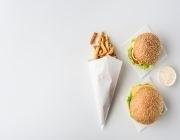 快餐食品包裝紙